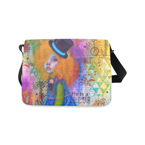 Life is a Circus - Messenger Bag