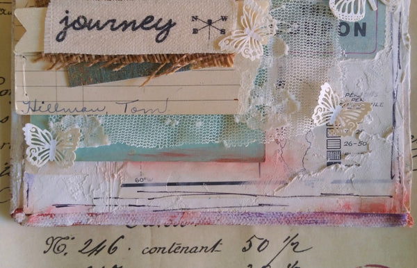 Love The Journey - Original Mixed Media