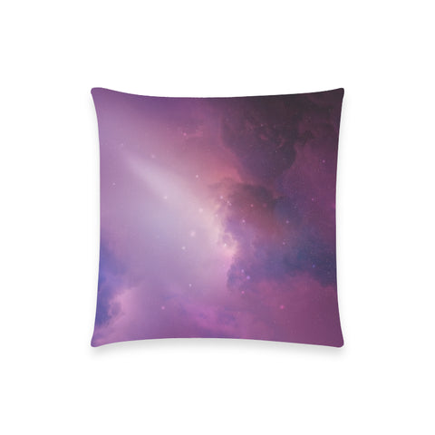 "Librae Nebula - Custom  Pillow Case 18""x18"" (one side) No Zipper"