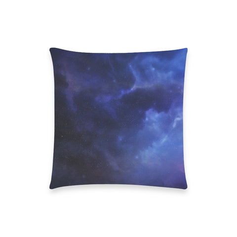 "Aquarillia Nebula - Custom  Pillow Case 18""x18"" (one side) No Zipper"
