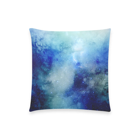 "Atlantis Nebula - Custom  Pillow Case 18""x18"" (one side) No Zipper"