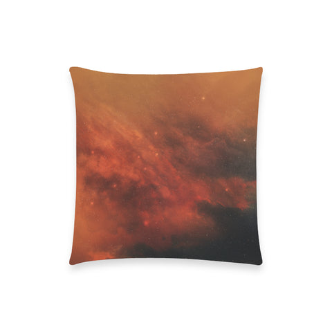 "Anadeia Fire Nebula - Custom  Pillow Case 18""x18"" (one side) No Zipper"