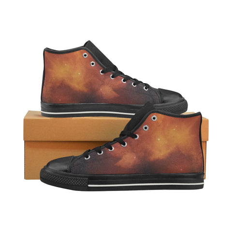 Dragontooth Nebula High Top Canvas Shoes (for Women)