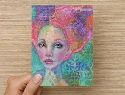 Anahalia - Greeting Card