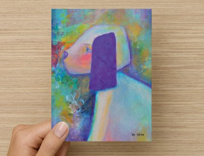 Be True - Greeting Card