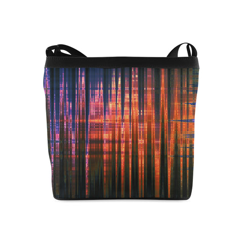 Grid Persuasion Crossbody Bags