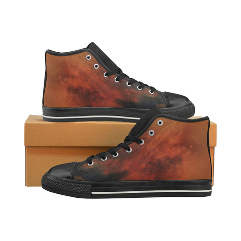 Anadeia Fire Nebula High Top Canvas Shoes (for Women)