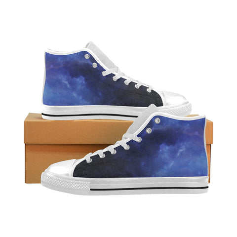 Aquarillia Nebula High Top Canvas Shoes (for Men)