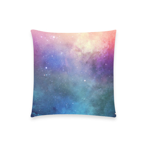 "Europa Nebula - Custom  Pillow Case 18""x18"" (one side) No Zipper"
