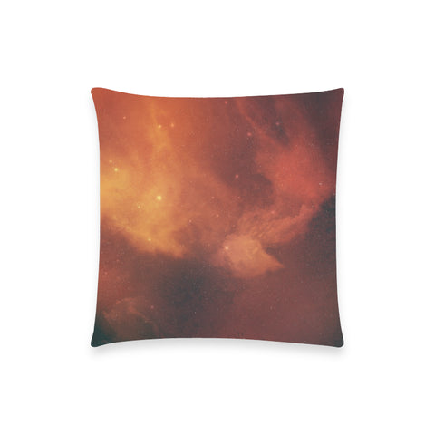 "Dragontooth Nebula - Custom  Pillow Case 18""x18"" (one side) No Zipper"