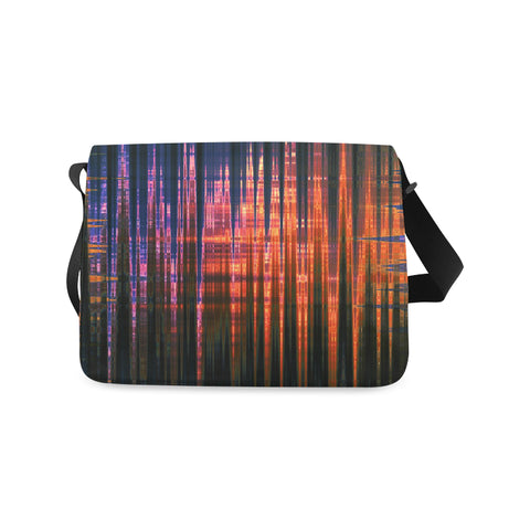 Grid Persuasion - Messenger Bag