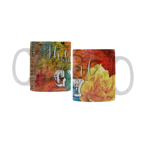 She had the Heart of a Gypsy - Art Mug