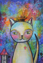 Load image into Gallery viewer, Kitty Queen - by Danita Lyn