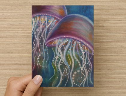 Mystic Jellyfish - Greeting Card