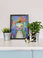Load image into Gallery viewer, Kitty Queen - Art Print by Danita Lyn
