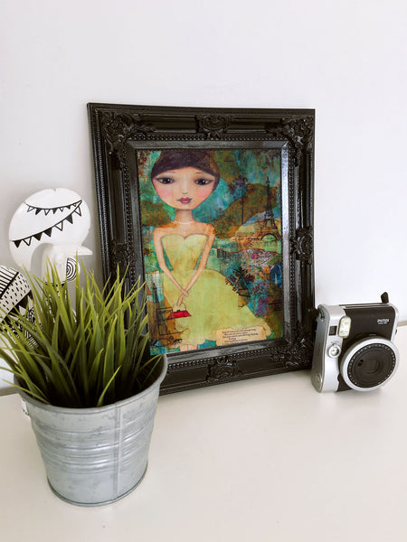 Oh Paris! - Art Print by Danita Lyn