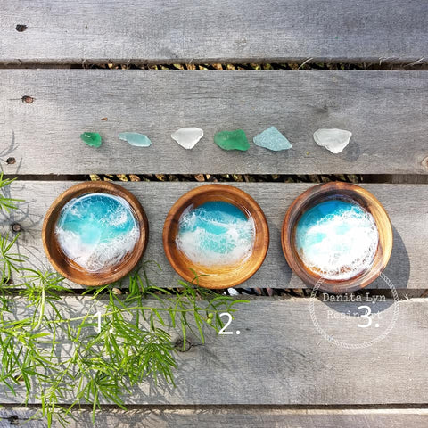 Anna Maria Resin Beach Bowls/Round - Small - Series 1