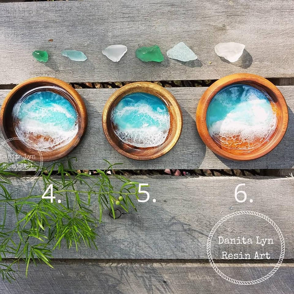 Anna Maria Resin Beach Bowls/Round - Small - Series 2