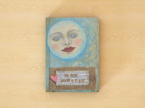 To the Moon and Back - 100 Page Notebook/Journal to Write in with Lined Pages