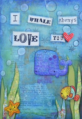 I Whale Always Love You - Art Print by Danita Lyn