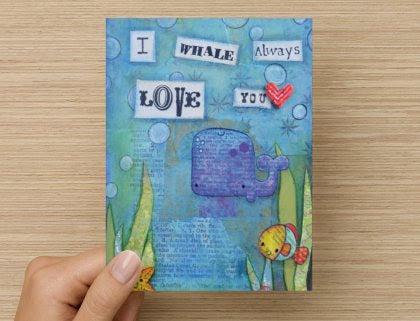 I Whale Always Love You - Greeting Card