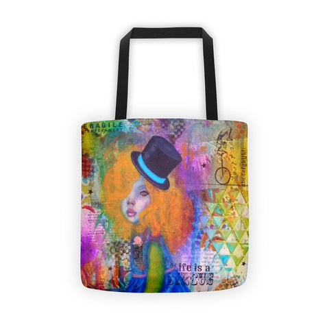 Life is a Circus! Tote bag