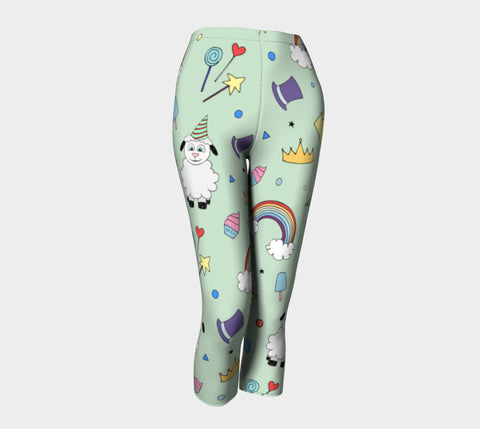 Ewe Are So Cute - Capris by Danita Lyn