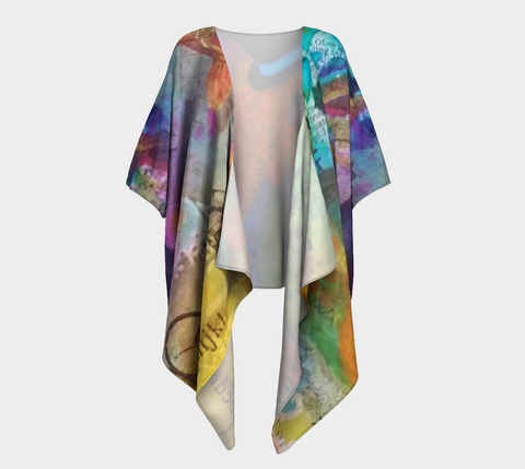 Life is a Circus! - Draped Kimono by Danita Lyn
