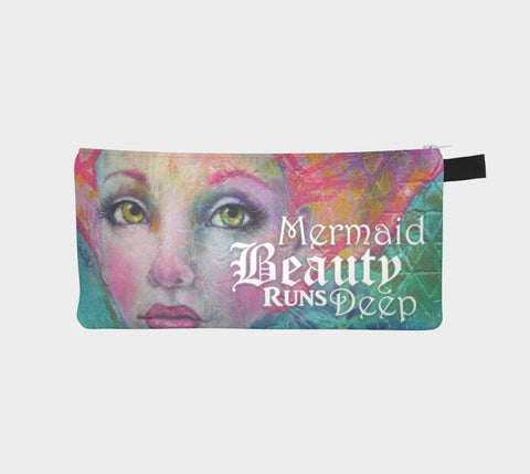 Mermaid Beauty Runs Deep - Accessories Case