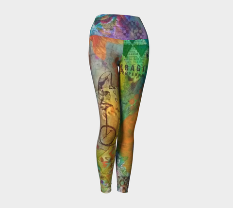 Life is a Circus! - Yoga Leggings by Danita Lyn