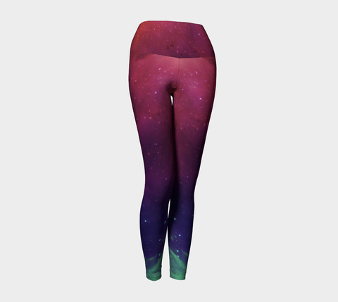 Aurora Portal Yoga Leggings by Danita Lyn