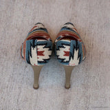 Una Heels - Women's Fashion Heels - Casual Wool Shoes - Fashion Shoes for Women - Carpet Culture Soho