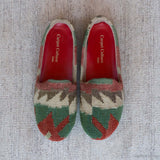 Chapal Loafers - Women's Slip on loafer - Casual Wool Shoes - Fashion Shoes for Women - Carpet Culture Soho
