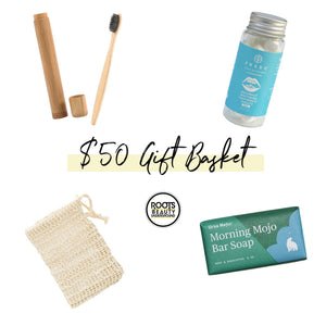 Load image into Gallery viewer, $50 Clean Beauty Gift Basket