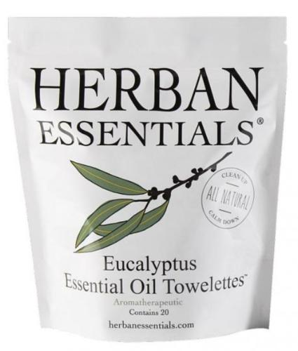 HERBAN ESSENTIALS | ESSENTIAL OIL TOWELETTES