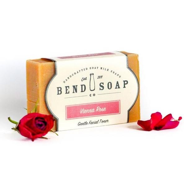All Natural Soap Vienna Rose Goat Milk Soap by BEND SOAP