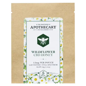Brothers Apothecary Wildflower Oregon Grown CBD Honey