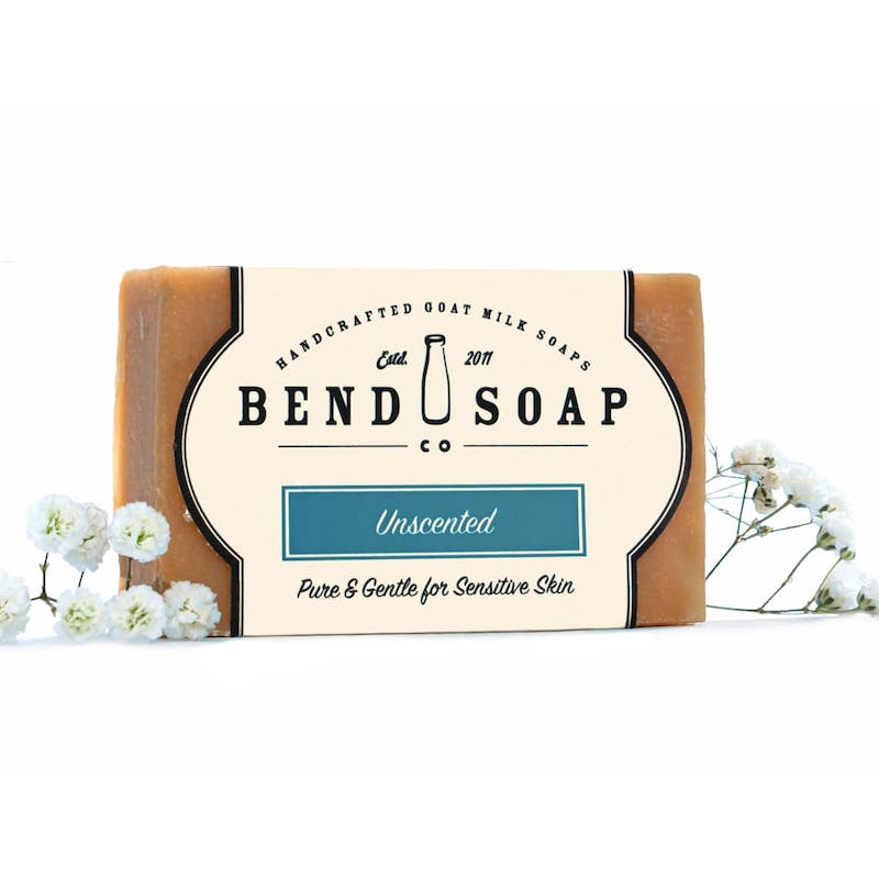 BEND SOAP CO. Unscented Goat Milk Soap Clean Beauty Natural Skincare
