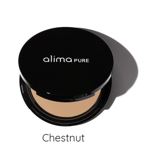 Alima Pure Pressed Powder Compact Chestnut