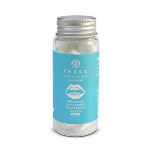 FRESC Naturally Whitening Eco Friendly Toothpaste Tablets