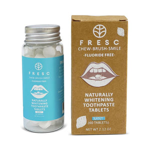 FRESC | Naturally Whitening Toothpaste Tablets