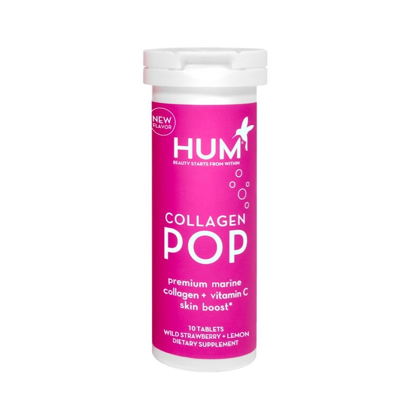 HUM NUTRITION Collagen Pop Natural Supplements for Clean Beauty