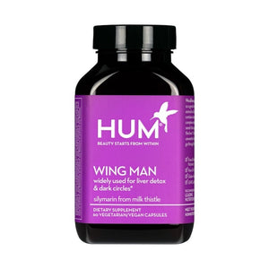 HUM NUTRITION Wing Man Organic Supplements for Liver Cleanse Hum Nutrition