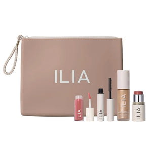 Load image into Gallery viewer, Ilia Beauty Hello Clean Makeup Gift Set Natural Makeup and Skincare