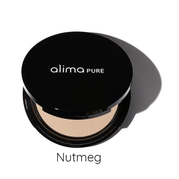 Alima Pure Pressed Powder Compact Nutmeg