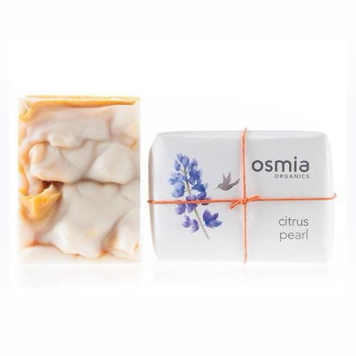All Natural skincare by OSMIA Citrus Pearl Soap