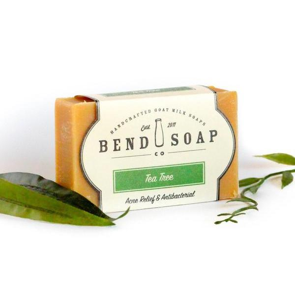 Organic Soap by BEND SOAP Tea Tree Goat Milk Soap