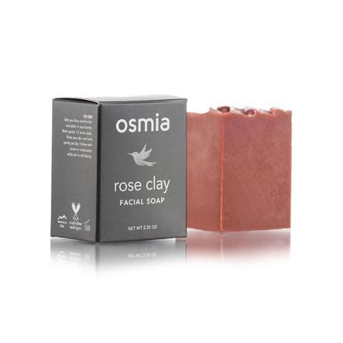 Clean Skincare Osmia Rose Clay Facial Soap