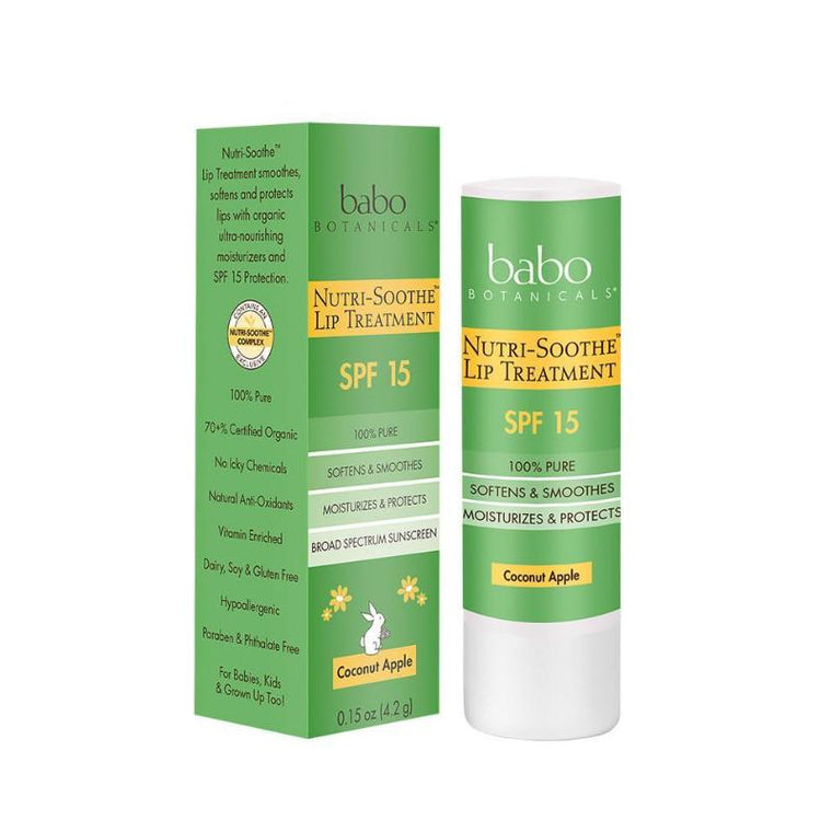 BABO BOTANICALS | Nutri-Soothe™ SPF 15 Lip Treatment