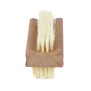 Wooden Nail Brush for at Home Pedicures Non-Toxic Nail Polish